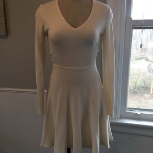 BCBG A-line Sweater Dress